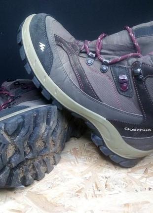 Треккинговые ботинки quechua 39 р # 1409