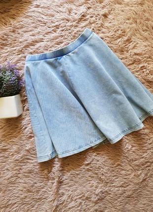 Юбка джинсовая topshop