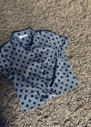 Стильна фудболка -топ сорочка 9 років