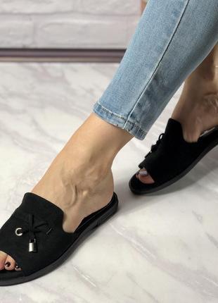 Женские тапочки на узкую ногу