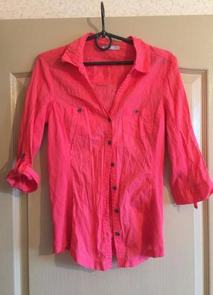 Яркая летняя рубашка 1+1=3