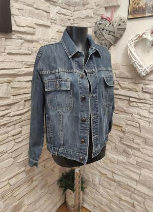 Очень классная стильная модная джинсовка от timberland джинсовая курточка