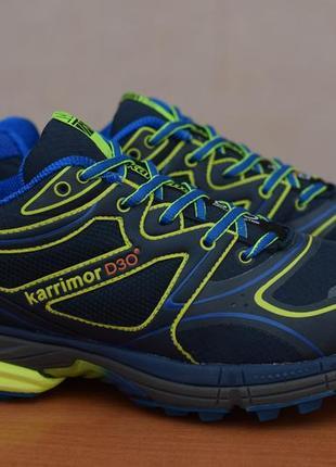 Синие беговые кроссовки karrimor d30, 39 размер. оригинал