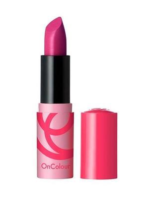 Кремовая губная помада oncolour flirty розовая орхидея 39916 орифлейм oriflame оріфлейм