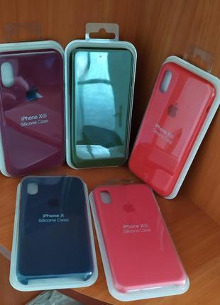 Силіконові чохли/кейси для iphone xs