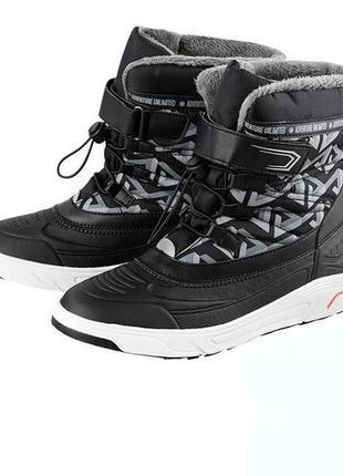 Pepperts детские зимние ботинки германия