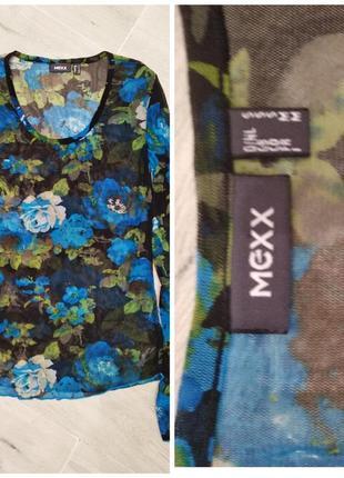 Блузка тюль