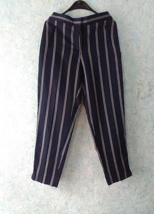 Супер стильные штаны в вертикальную полоску