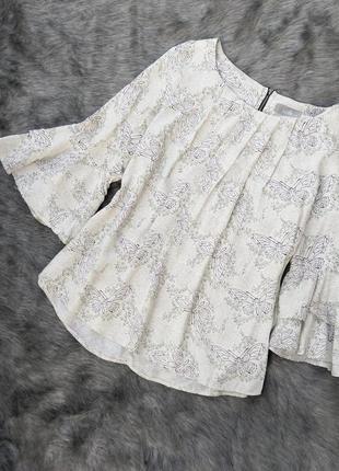 Блуза кофточка из натуральной вискозы wallis