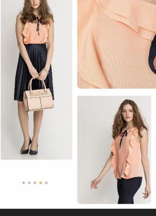 Стильная блуза топ orsay 44