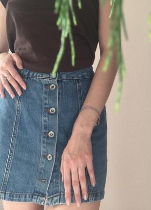 Джинсовая юбка от new look
