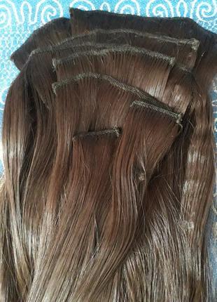 Волосы на заколках, трессы, термо-волосы