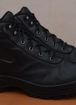 Черные кожаные ботинки nike acg mandara, 42.5 размер. оригинал