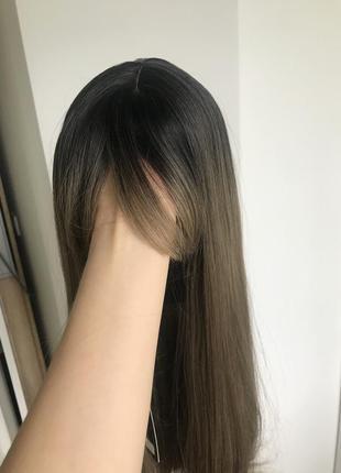 Шикарний русий парик