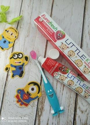 Паста зубная детская