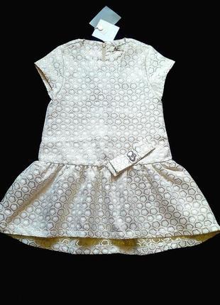 Нарядное изящное платье для девочки 4-6 лет новое. италия to be too