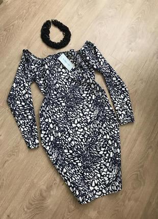 Шикарное платье liquid