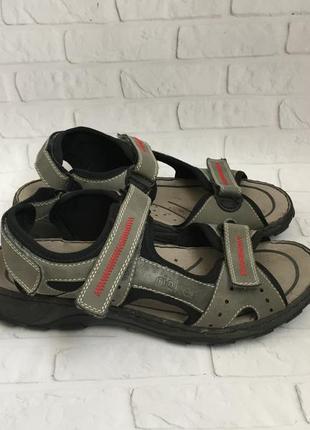 Чоловічі босоніжки rieker мужские босоножки сандалии кожа оригинал