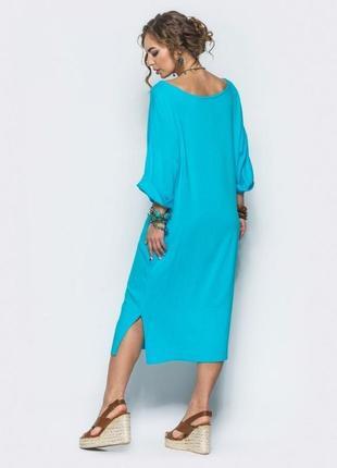 Чудесное льняное платье