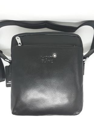 Мужская кожаная сумка мужская брендовая сумка