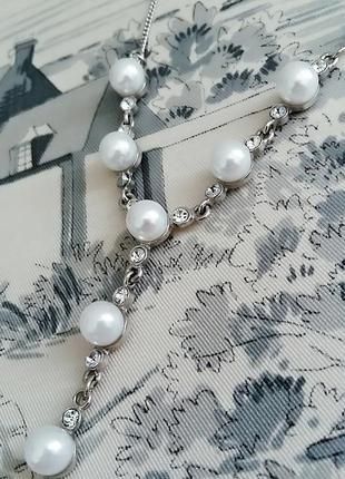 Жемчужная подвеска , ожерелье с жемчужинами