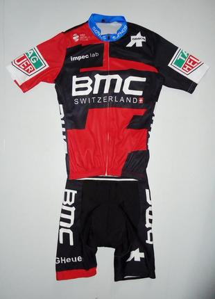 Велокостюм bmc switzerland велоформа (m)