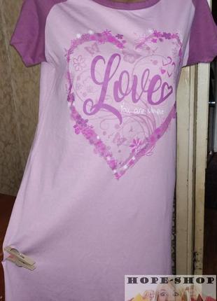Домашнее платье -футболка,ночная рубашка,сорочка  42/48