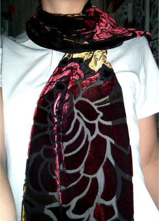 Шарфик - шаль на шею прозрачный