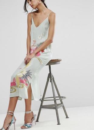 Asos крутое платье премиум-коллекции