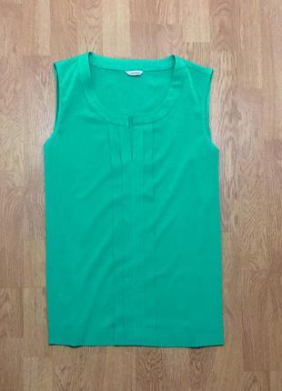 Шикарная легка блуза calvin klein блузка бирюзовая