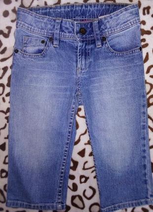 Бриджи, шорты джинсовые для девочки 5-7 лет