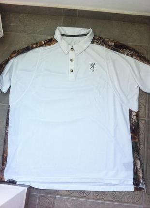 Продам мужскую футболку для рыбалки или охоты browning realtree xtra