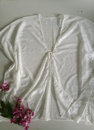 Ажурная красивая накидка пляжная, парео от немецкого бренда esmara
