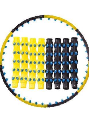 Обруч массажный хулахуп hula hoop 6001