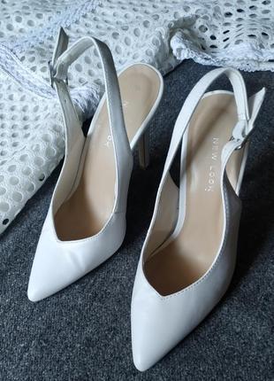 Классические туфли лодочки new look