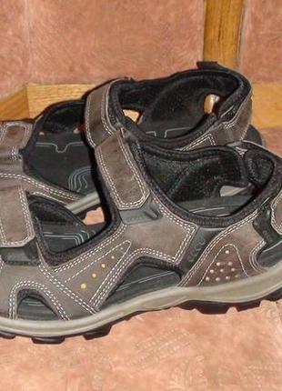 Ecco - шкіряні босоніжки, сандалі