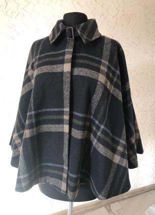 Пончо,пальто розм m/l,шерстяне мантішко
