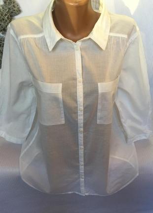 Легкая воздушная рубашка