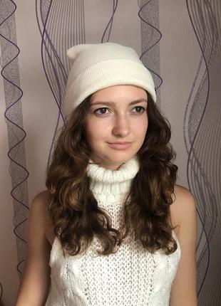 Ванильная шапка