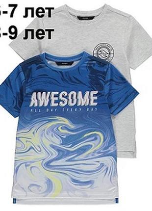 В наличии.футболка,george, 6-7, 8-9 лет, 116-122 см, 128-134 см