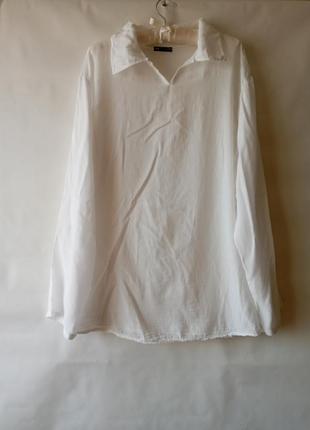 Рубашка оверсайз италия длинная