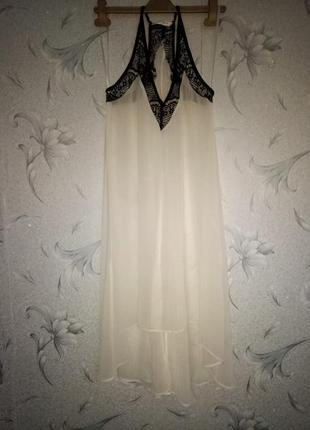 Красивая туника/платье с удлиннённой спинкой.