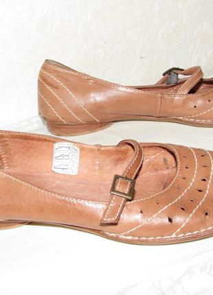 Туфли лодочки натуральная кожа~roberto santi~trend