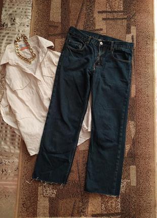 Джинсы / мом / клёш / прямые / штаны брюки / необработанные края