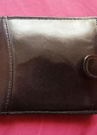 Мужской кожаный кошелек, портмоне