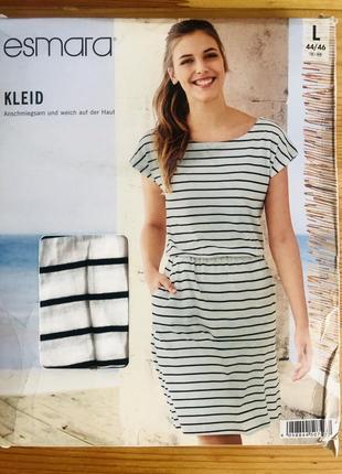 Женское летнее хлопковое платье esmara евро 44-46