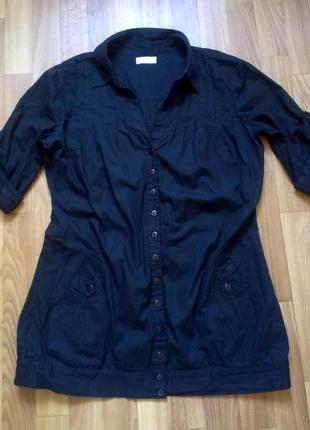 Удлиннённая рубашка