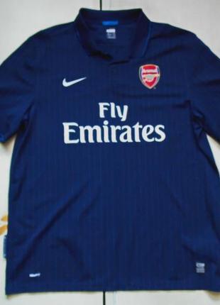 Nike arsenal away 2009-10 футболка размер xxl