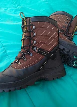 Високі термо чоботи з шипами everest /термо ботинки