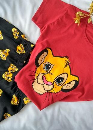 Пижама женская, король лев. размер m